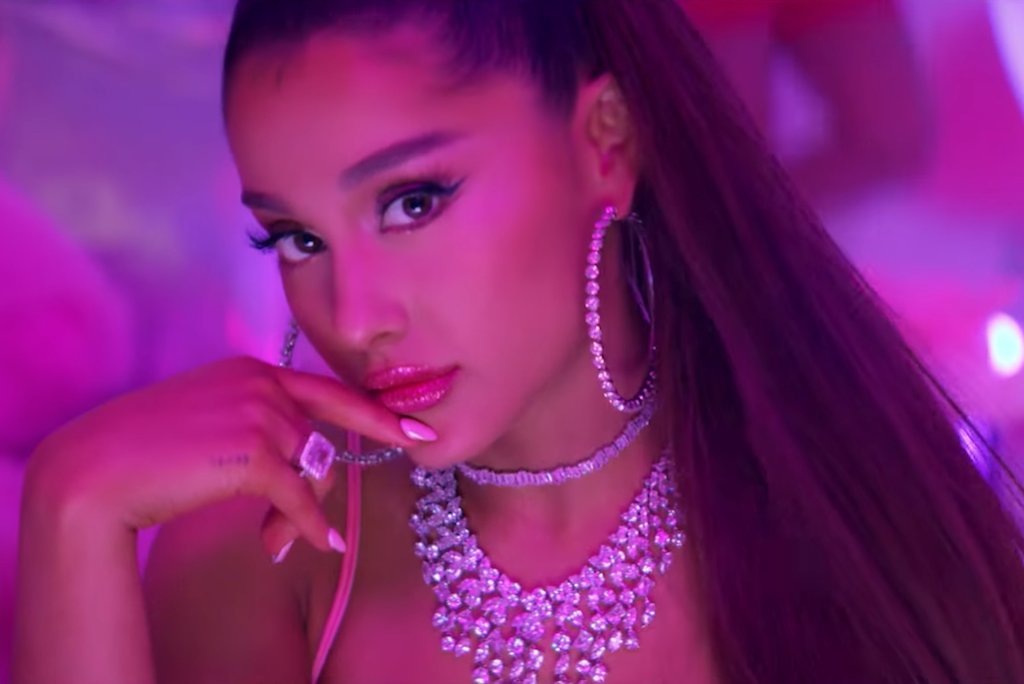 """5777b6c8d Ariana Grande's Japanese Tattoo For """"7 Rings"""" Actually Reads """"Barbeque  Grill"""""""