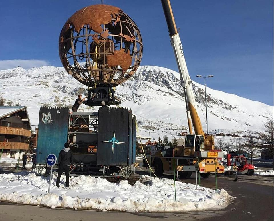 SPOILERS: Pictures Emerge From Setup Of First Ever Tomorrowland Winter In The Alps