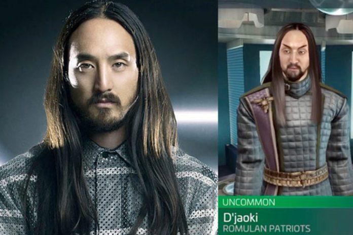 Play As Steve Aoki In New Star Trek Fleet Command Video Game