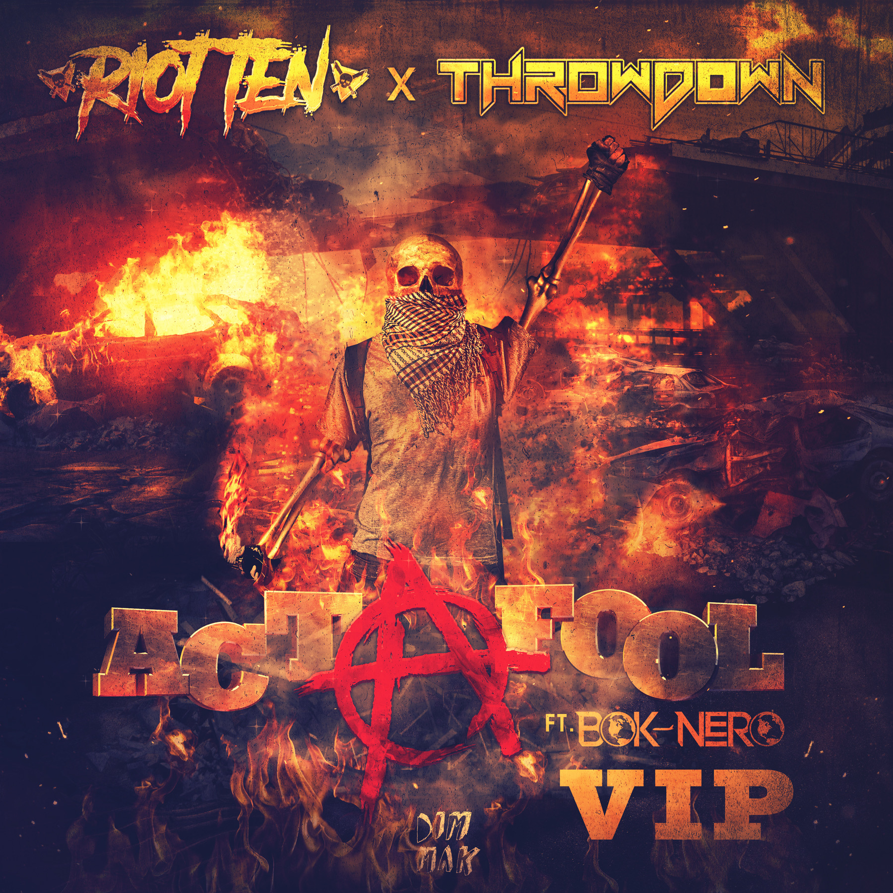 """Throwdown throws down with this VIP of """"Act A Fool"""""""