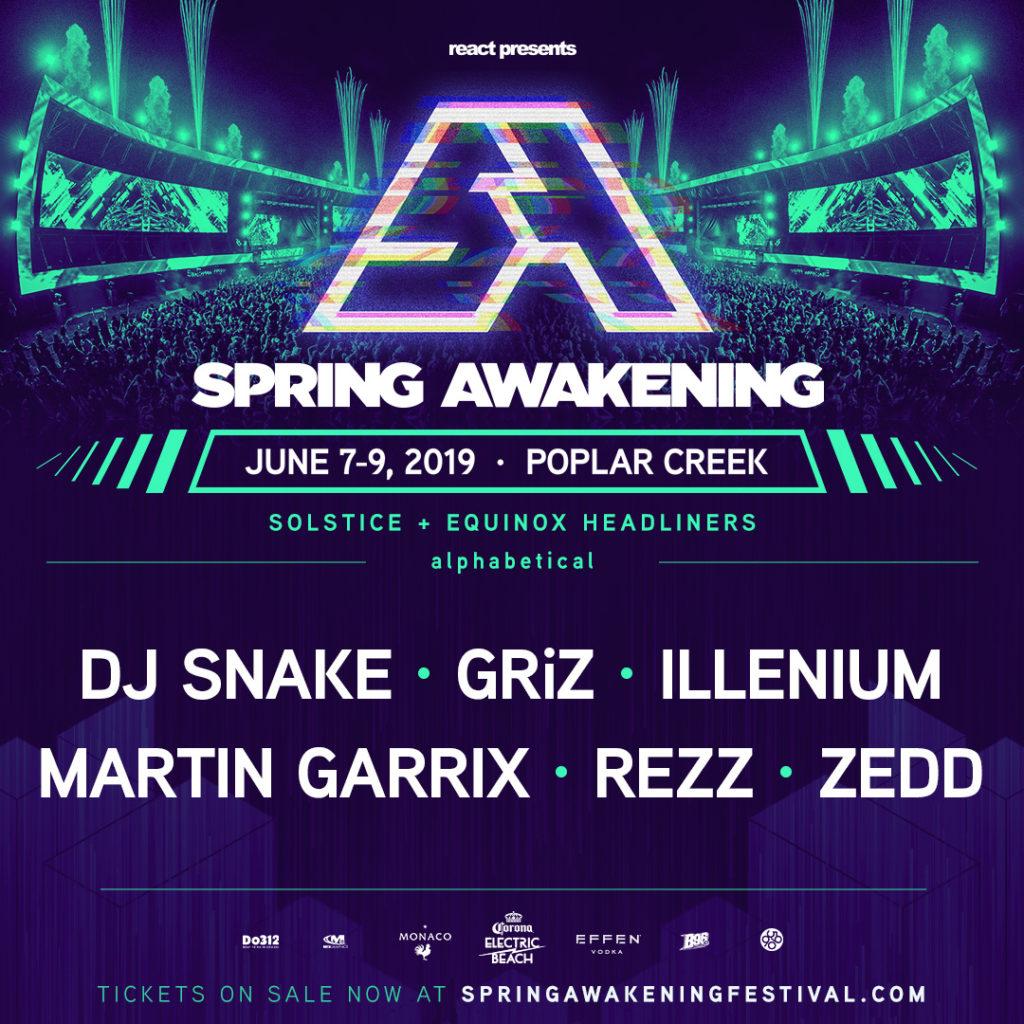 Spring Awakening 2019 Announces New Location & First Headliners