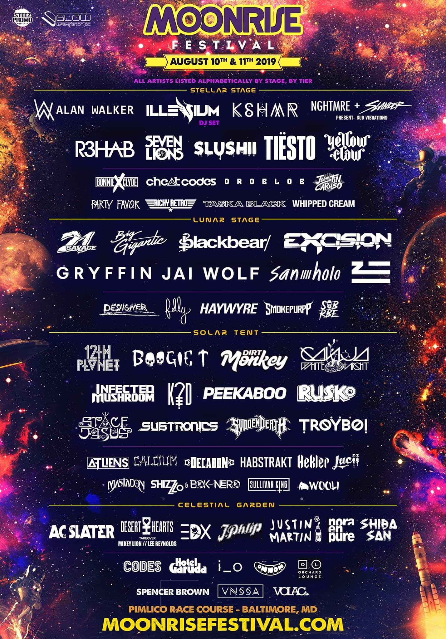 Moonrise Festival 2020.Moonrise Festival Reveals Incredible Lineup With Illenium