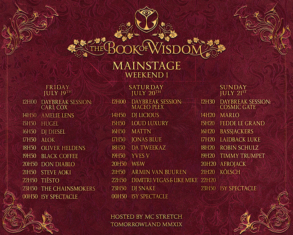 Tomorrowland Website Easter Egg Strongly Suggests The Return of Swedish House Mafia