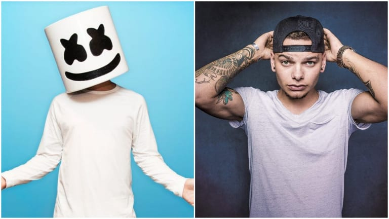 """Marshmello Goes Country On New Collab """"One Thing Right"""" with Kane Brown"""