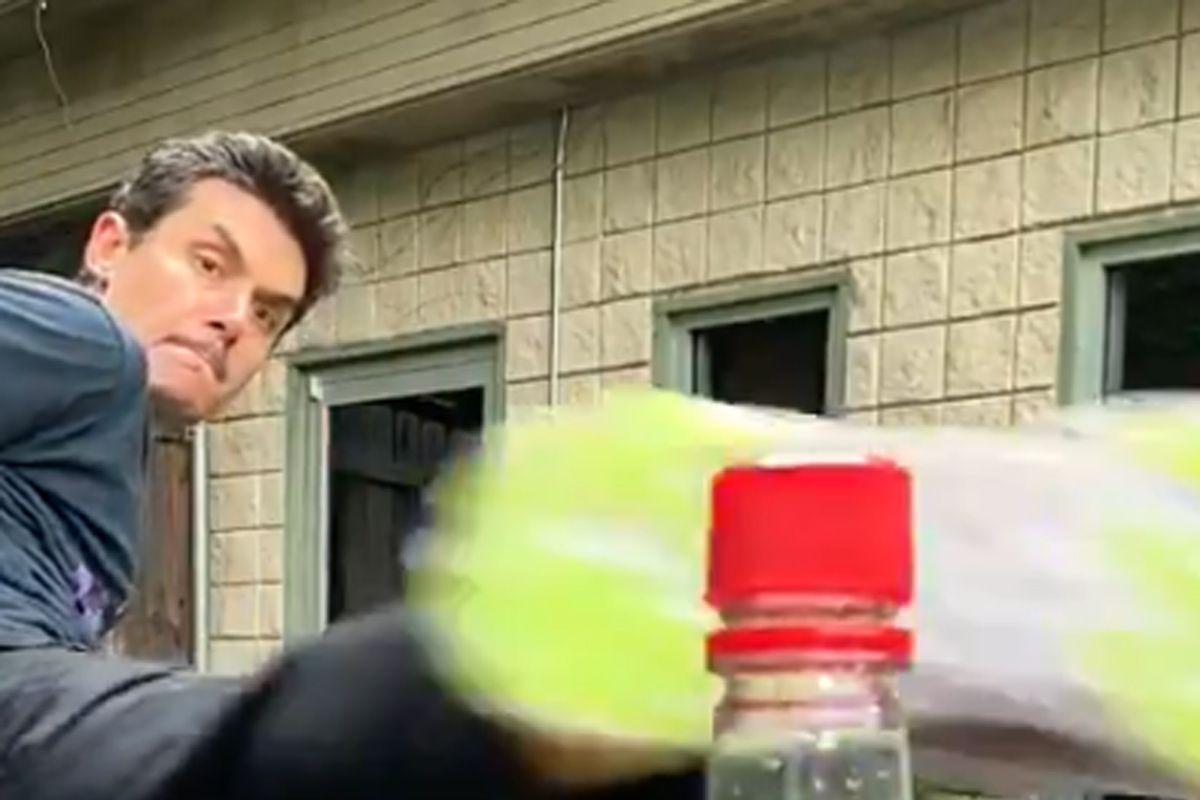 Bottle Cap Challenge Spin-kicking Its Way Into Social Media Sensation