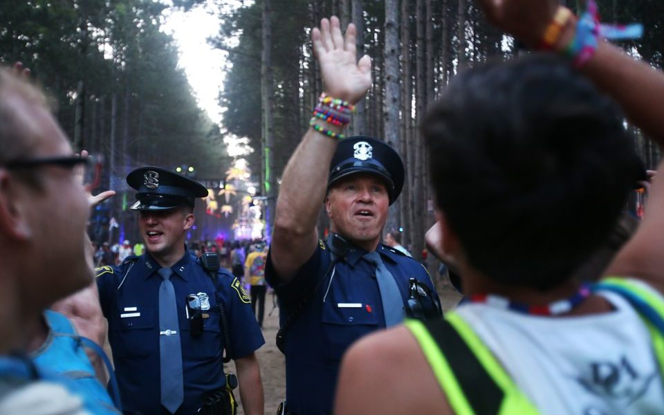 michigan state police electric forest