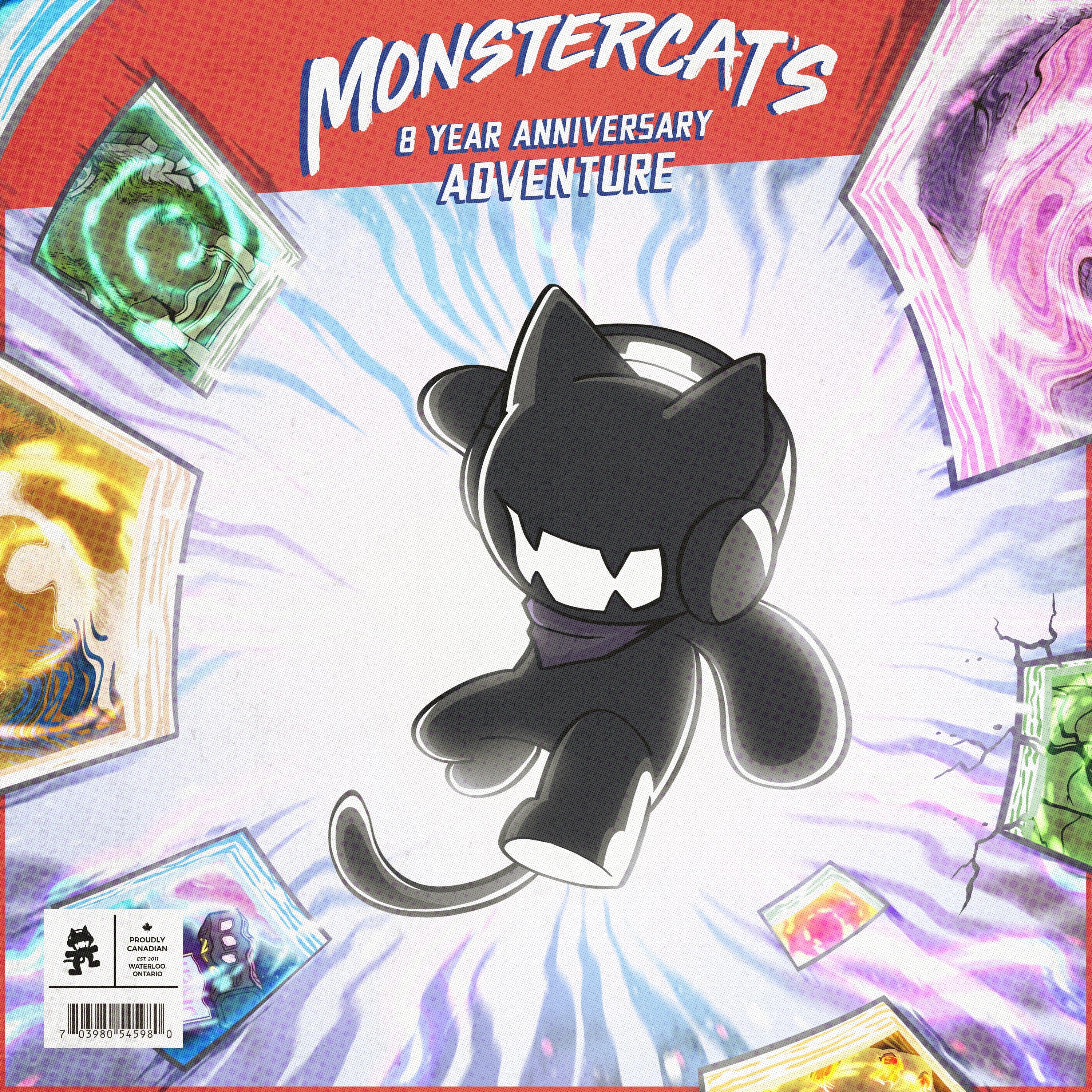 Monstercat Celebrates 8th Anniversary with Stacked New