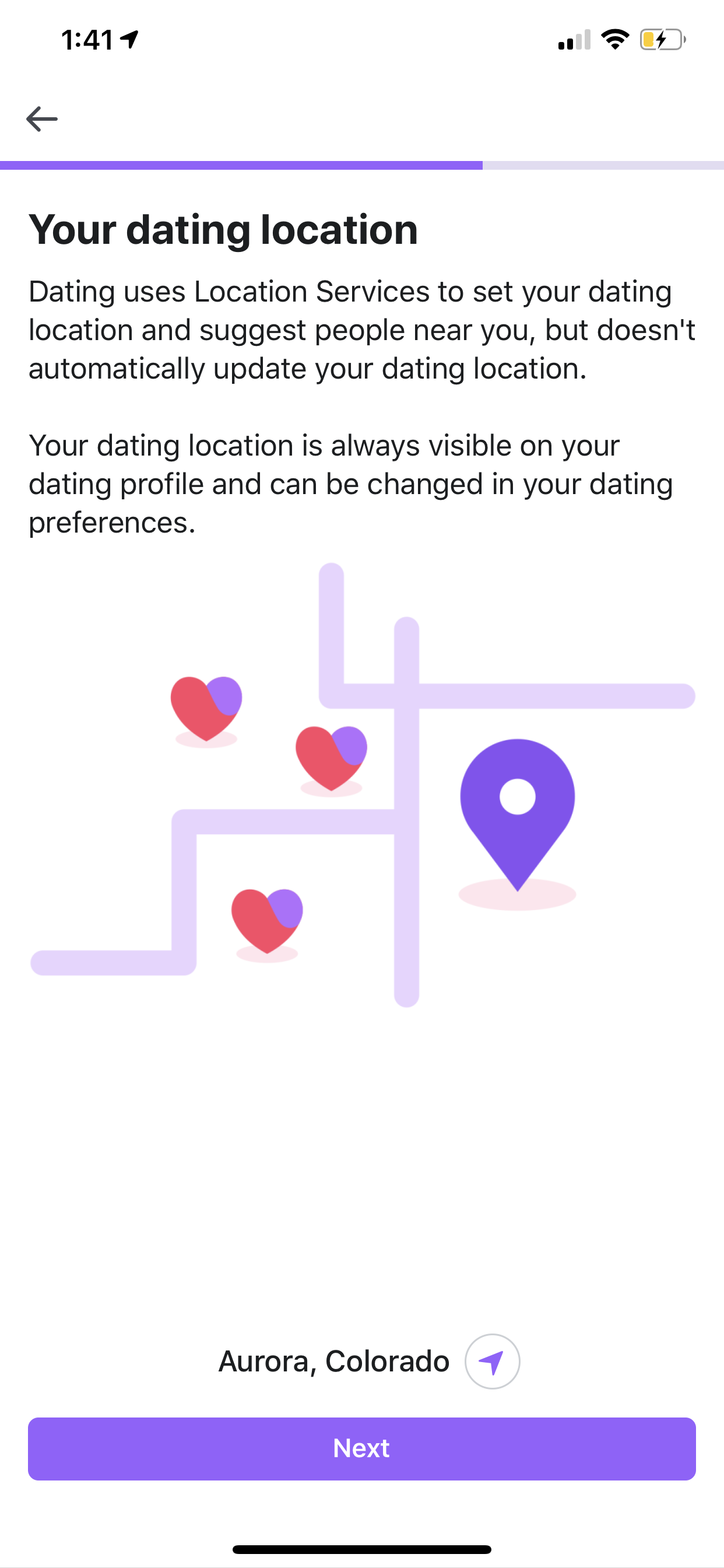 EDM dating app