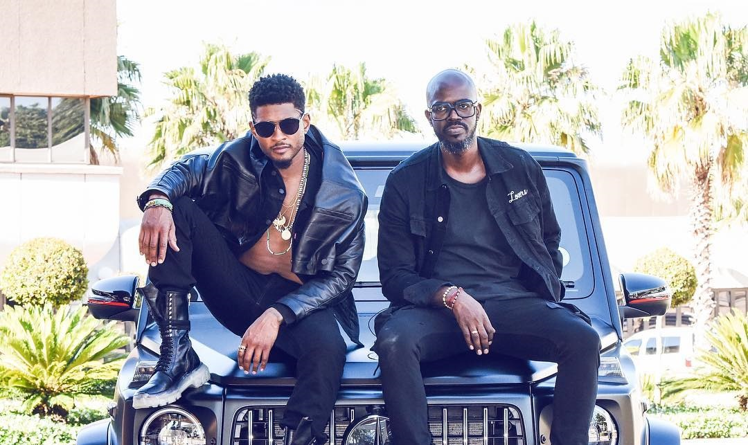 """Black Coffee Teams Up With Usher For New Song """"LaLaLa"""""""