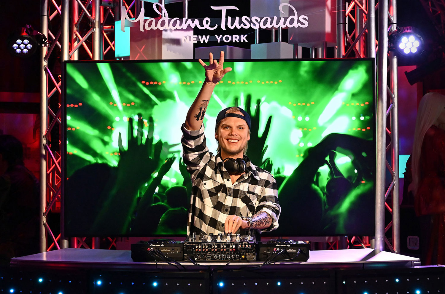 Avicii Receives Wax Figure At Madame Tussauds NY