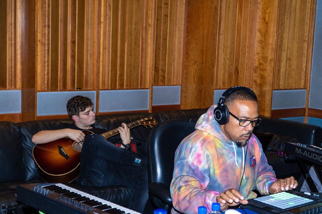 Martin Garrix Is Making Music With Timbaland [PHOTOS]