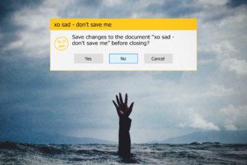 xo sad - don't save me wlogo
