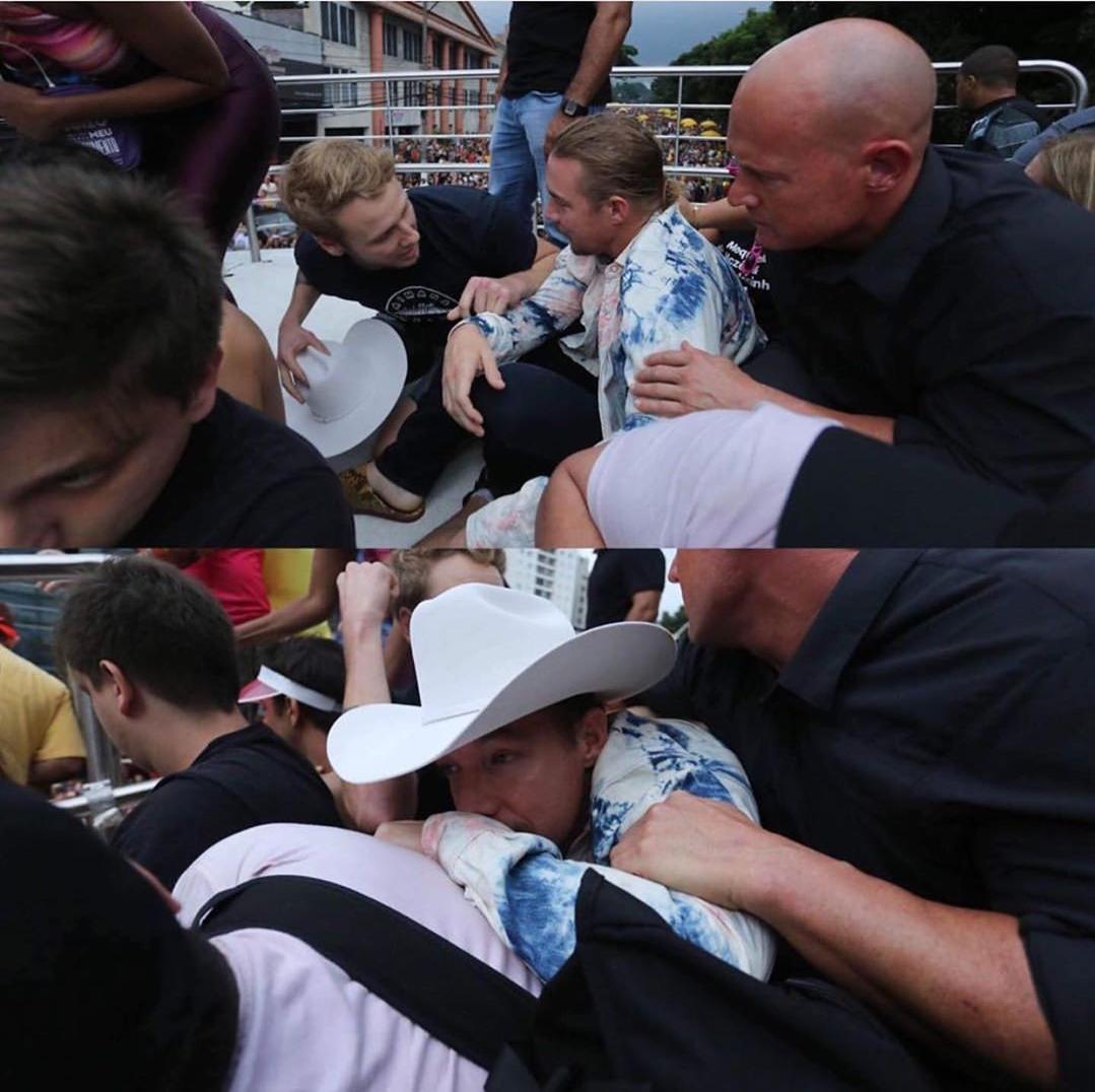 Diplo Speaks Out After Shooting During Major Lazer Festival Set