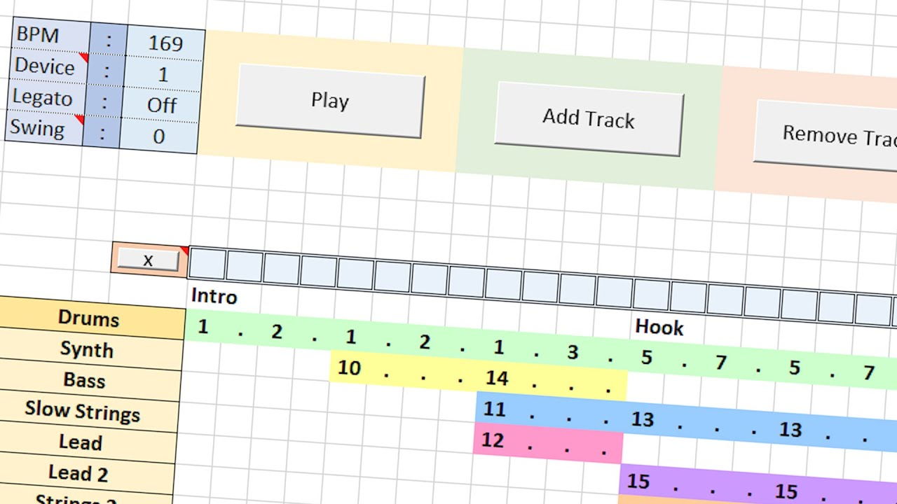 YouTuber Makes Entire DAW In Microsoft Excel [WATCH]