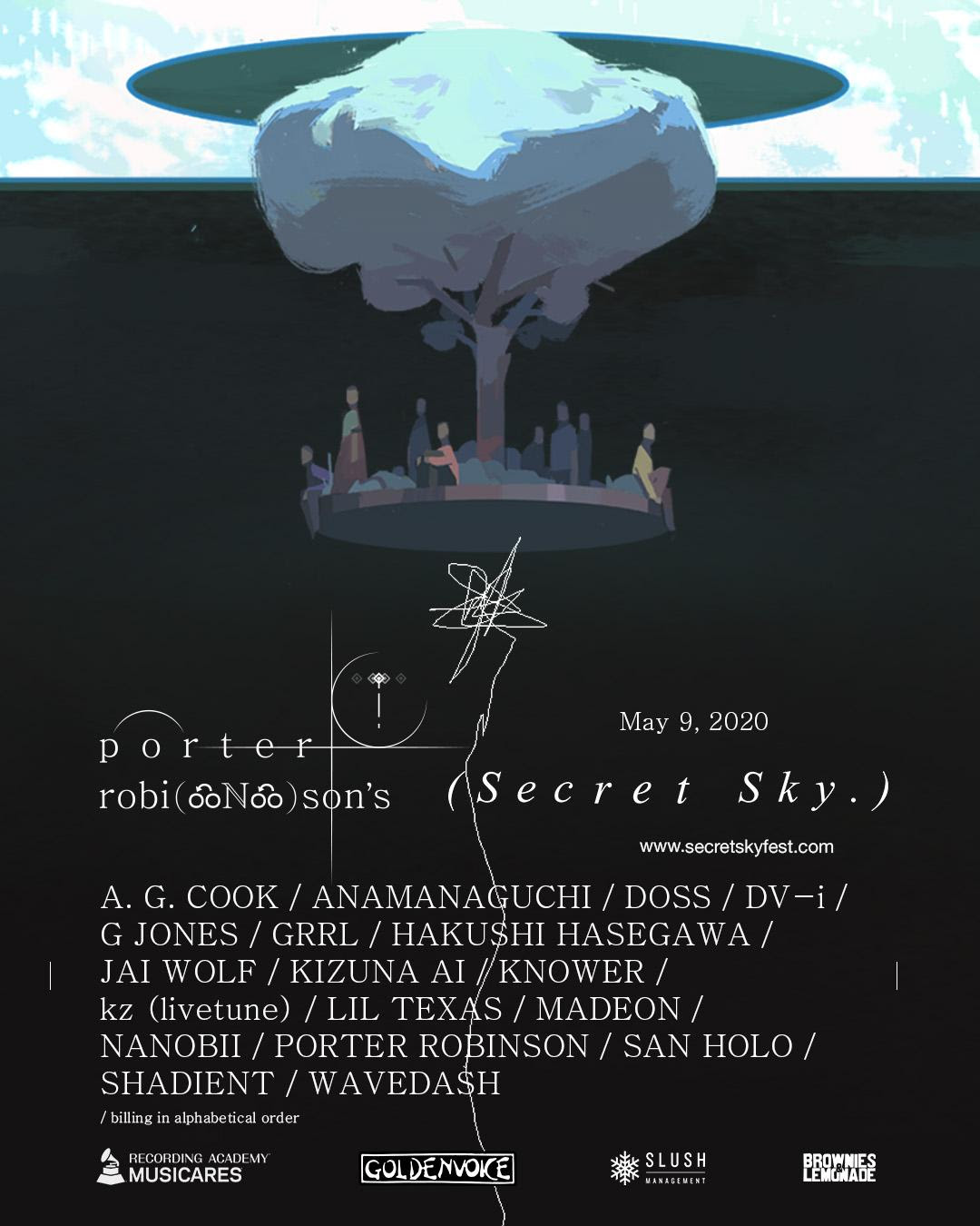 porter robinson secret sky