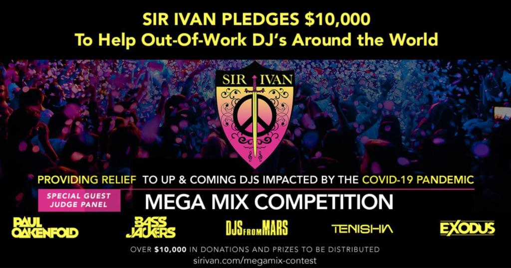 Sir Ivan aka Peaceman MegaMix Contest for Cash Prizes | Your EDM