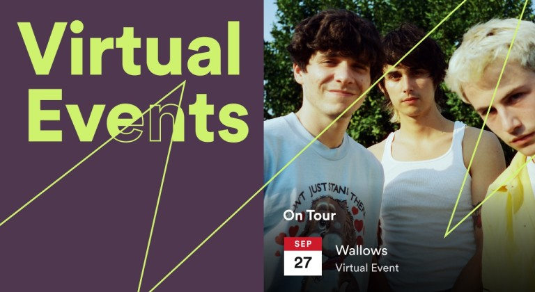 Spotify introduces virtual events listings