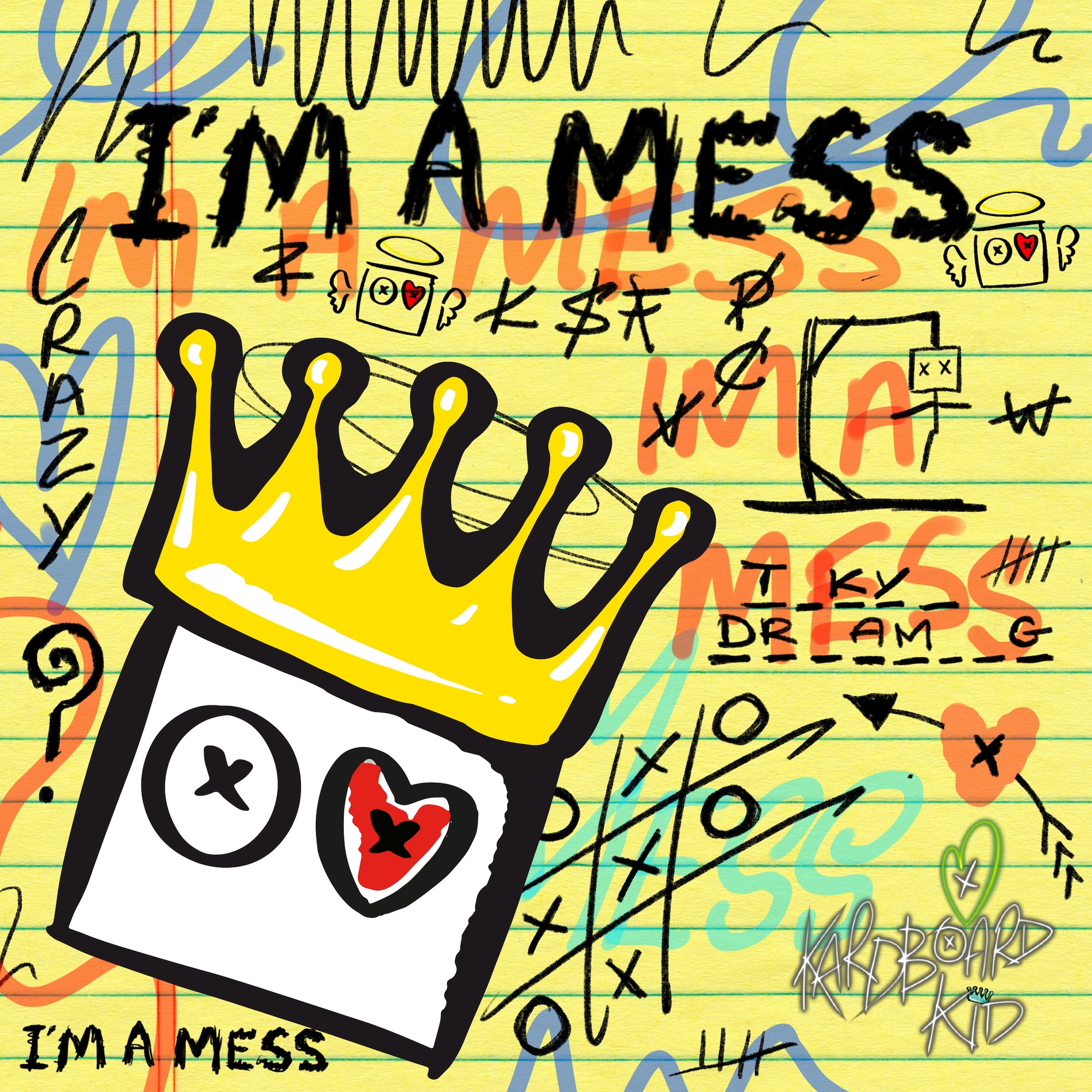 "UK Producer Kardboard Kid Drops Super Catchy, ""I'm a Mess"""