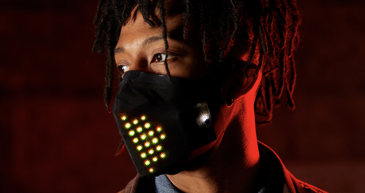 Mastercard Launches Limited Edition Run of Music Reactive LED Masks