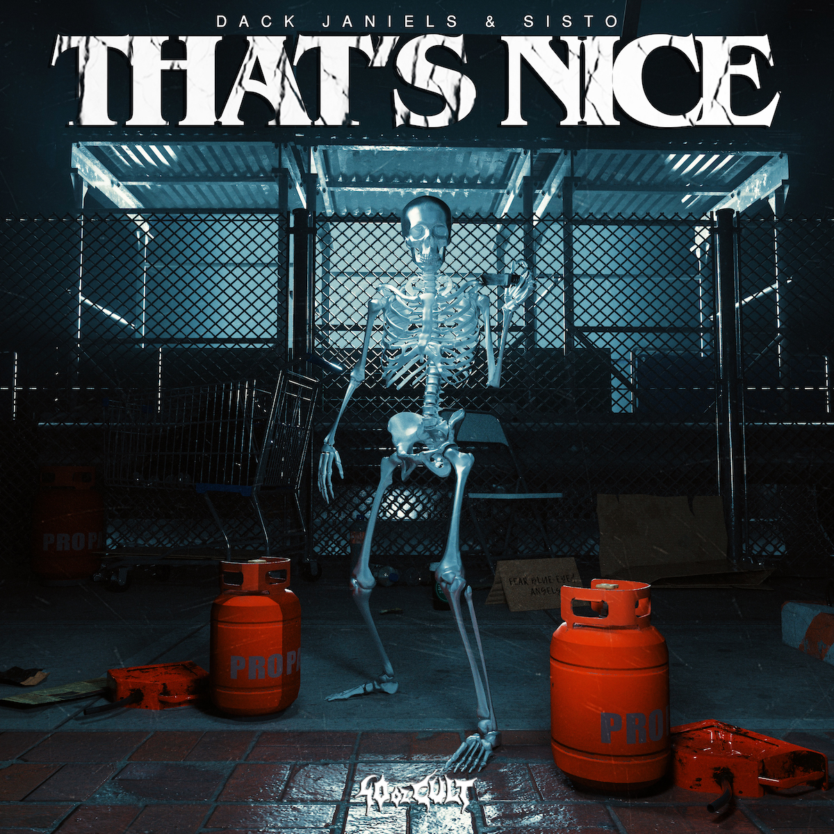 """Dack Janiels & SISTO Drop Explosive Collab """"That's Nice"""" on 40oz Cult [LISTEN]"""