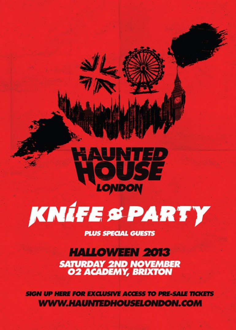 Knife Party Take Their Haunted House to London