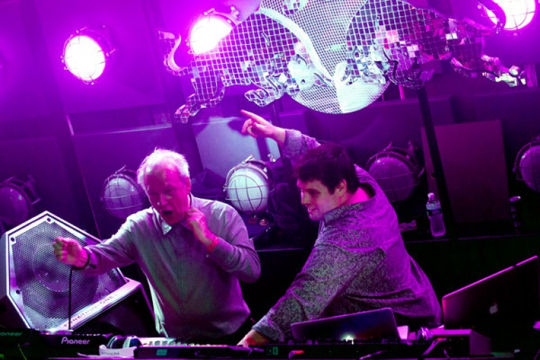 Giorgio Moroder's Debut DJ Set In New York