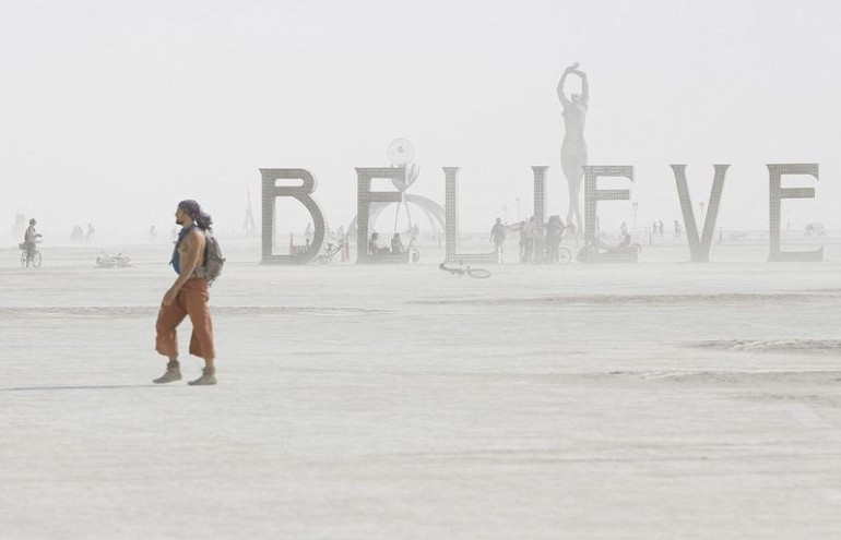 Drones Capture Amazing Footage from Burning Man!