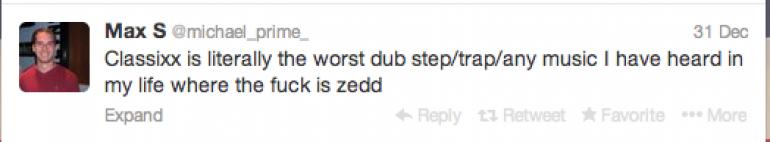 Classixx Gets Booed Off Stage at Zedd Tour
