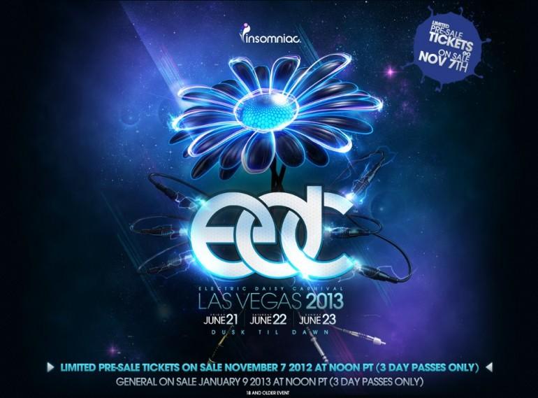 Electric Daisy Carnival Las Vegas Dates Announced
