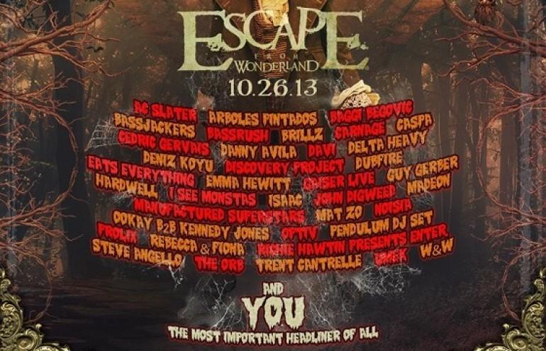 A Closer Look Inside Escape From Wonderland 2013
