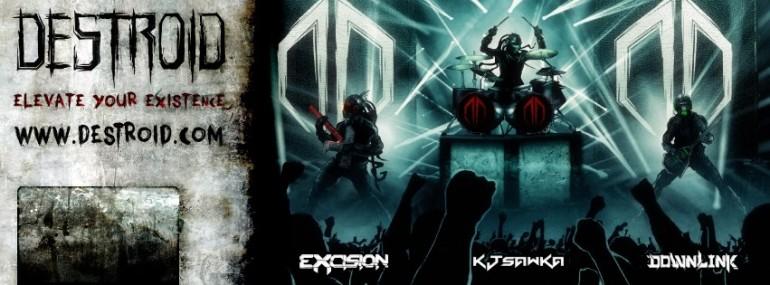 "Excision Announces ""Live Dubstep Band"" + Shambhala 2012 Mix"