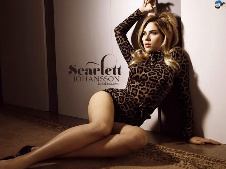 #Selfie with Scarlett Johansson…wait, what?